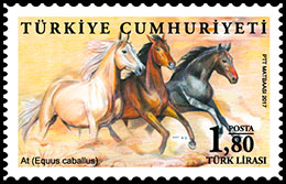 Animals. Postage stamps of Turkey.