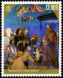Christmas. Joint Issue with Argentina . Postage stamps of Vatican City.
