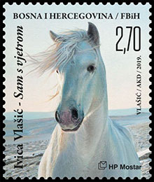 World Heritage Day - Ivica Vlašić . Postage stamps of Bosnia and Herzegovina (Croatian Administration).