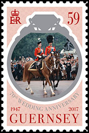 70th Wedding Anniversary of The Queen and Prince Philip. Chronological catalogs.