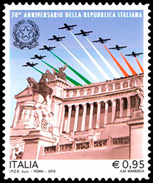 The 70th Anniversary of the Italian Republic. Chronological catalogs.