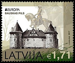 Europa 2017. Palaces and Castles . Chronological catalogs.