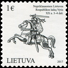 Lithuanian State Symbol - Vytis.. Chronological catalogs.